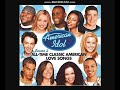 Song lyric God Bless The USA (American Idol Finalists)