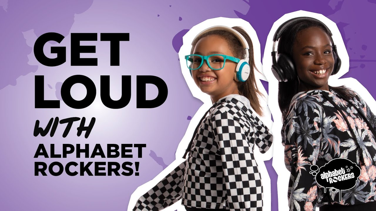 GET LOUD with Alphabet Rockers | Anti-Racism Music for Kids & Families | Dance and Sing