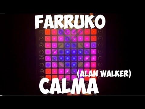 Pedro Capo Farruko Calma Alan Walker Remix Launchpad Cover