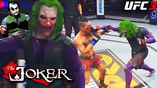 The JOKER Has Serious Hands! Going Crazy In The UFC! EA Sports UFC 3 Online Gameplay
