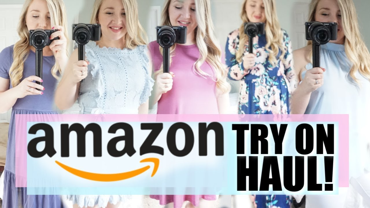 AMAZON TRY ON HAUL 2019   SUMMER OUTFIT IDEAS   AFFORDABLE FASHION 8