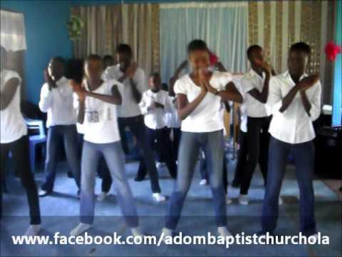 OPOMULERO MY PILLAR CHOREOGRAPHY BY GRACE INSPIRATIONAL DANCERS OF ADOM BAPTIST CHURCH