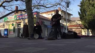 Уличные музыканты Геленджик 2019 Мумий Тролль - Владивосток 2000 cover