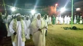 اولاد الشيخ الجعلي مشاركه في حوليه الشيخ الرفاعي بشمبات الاراضي 2017