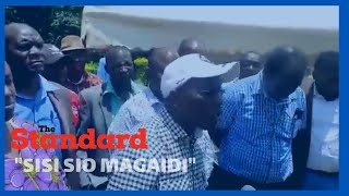Police disrupt meeting led by Boni Khalwale and other DP Ruto allies convened in Western Kenya