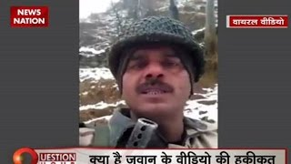 Question Hour: BSF jawan video on alleged poor food quality: Home Ministry awaits report
