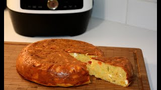 Пирог с Овощами и Сыром в Мультиварке Скороварке Редмонд Рецепты в Мультиварке Скороварке