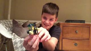 Face reveal and unboxing Roblox toy set