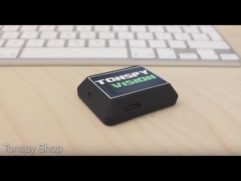 Tonspy Vision - Video and Audio Surveillance Device