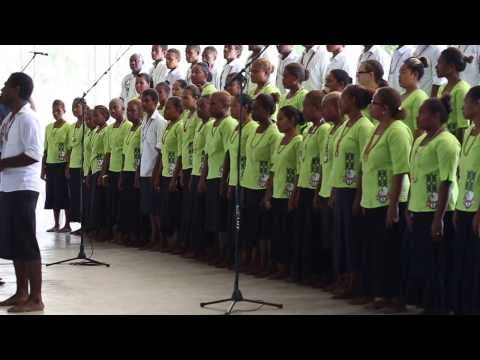 SSEC Choir at USP Graduation 2013 - Honiara, Solomon Islands