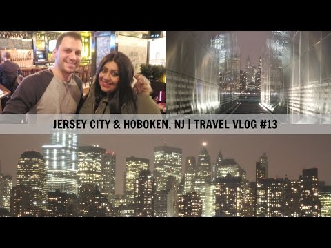 Jersey City & Hoboken, NJ Travel Vlog #13 | Nishi V
