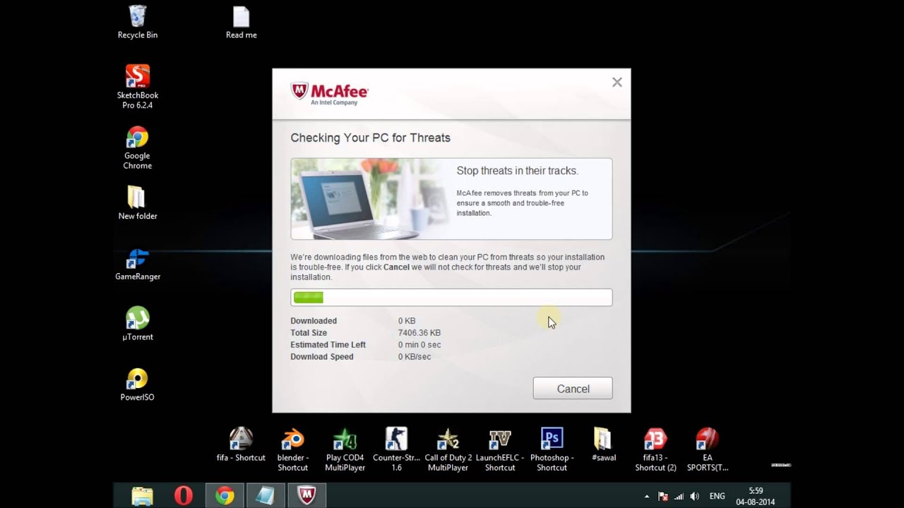 McAfee Something went wrong with the installation [Solved]