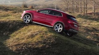 Mercedes-Benz GLA 220 CDI 4Matic off-road test (English subtitles) Video