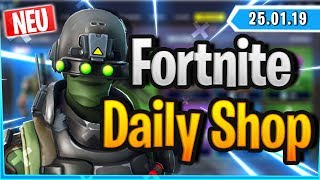 Fortnite Daily Shop *NEW* TECH OPS SKIN (25 January 2019)