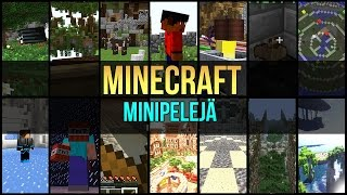 Minecraft: Minipelejä | Ep 2 | Tnt Games ft Risez