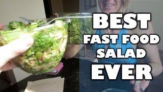 Workout & Best Fast Food Salad Ever! | Bradgouthrotv