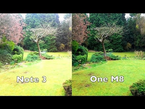 HTC One M8 Camera Destroys Galaxy Note 3 Camera! (2014) - YouTube