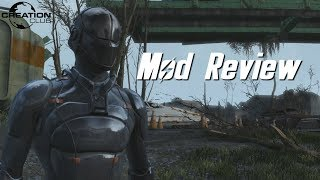 Скачать Fallout 4 Chinese Stealth Armor Creation Club Mod Review
