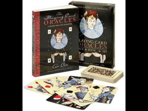 Hermes Playing Card Oracle Deck ! Quick Look & Flip Through - YouTube