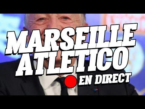 Le live du Tarpin Bien Marseille / Atletico chez Jean Michel Aulas !