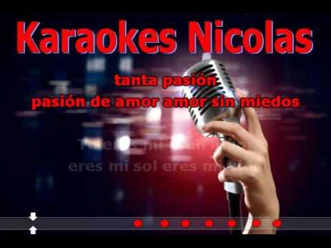 ( Karaoke ) Ale Ceberio - Enganchados Romanticos