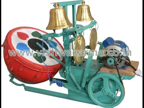 Arti Nagada or Temple Bell Player Machines,  Different types of Models.
