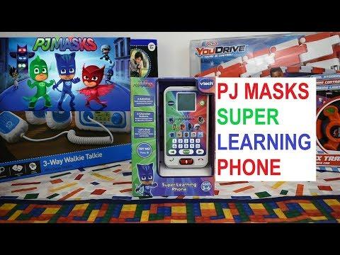 PJ Masks Super Learning Phone From VTech Demonstration