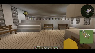 Quick Tour of My Minecraft Pool Building