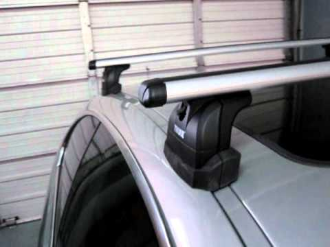 2007 Bmw 3 Series Coupe With Thule 460r Rapid Podium Roof