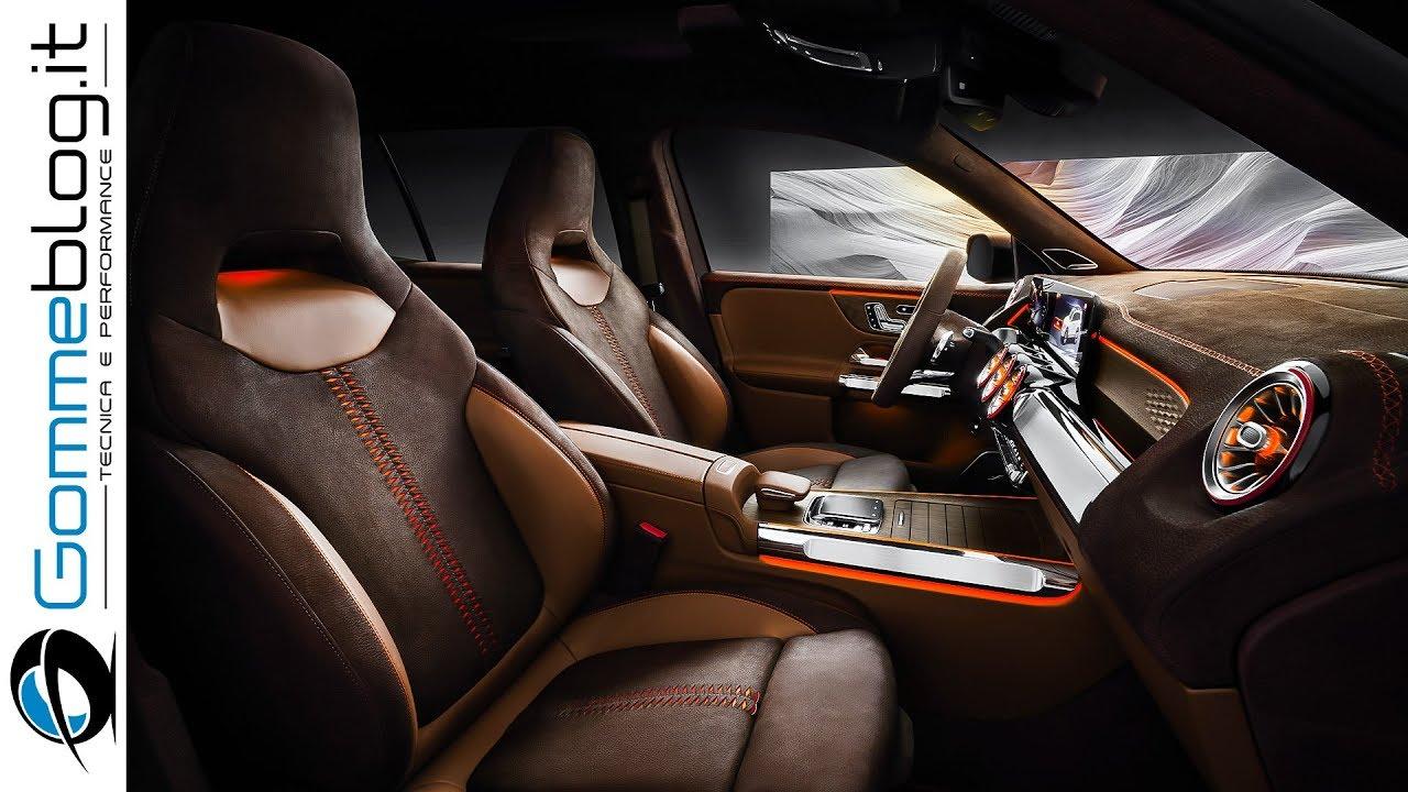 2020 Mercedes Benz GLB INTERIOR - DESIGN EXPLAINED - YouTube