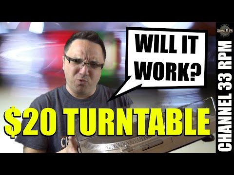 Testing a $20 thriftstore turntable | How to set up a record player | Vinyl Community