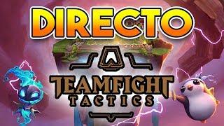 DIRECTO DE TEAM FIGHT TACTICS (NUEVO MODO LOL) EN EL PBE