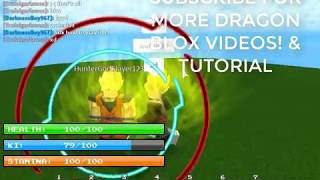 ROBLOX | NEW BEST DRAGON BALL GAME EVER!?!?! | DRAGON BLOX TUTORIAL
