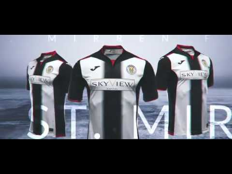 eeceb2890 St Mirren Home Kit 2018 19 - YouTube