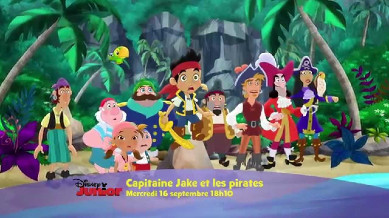 Capitaine jake et les pirates mercredi 16 septembre - Jake et les pirates ...