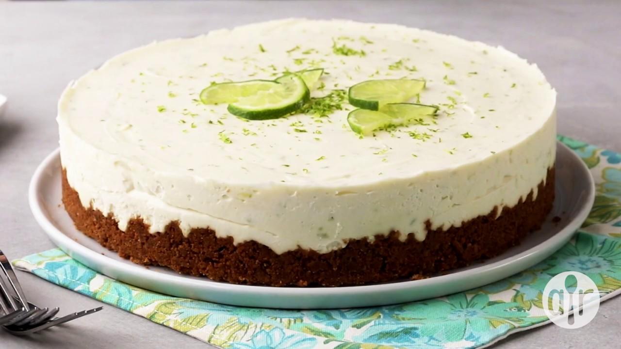 How to Make No Bake Lime Mousse Tart | Dessert Recipes | Allrecipes com