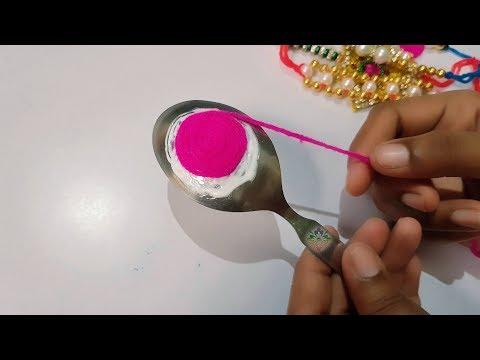 How to Make Rakhi at Home || Homemade Rakhi for Raksha-bhandan