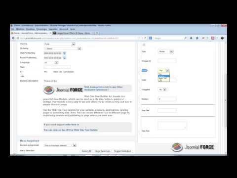 Joomla Extensions - Web Site Tour Builder