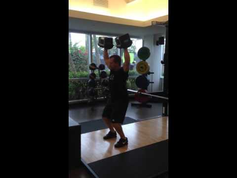 Weightlifting with ViPR - John Sinclair. Video 8