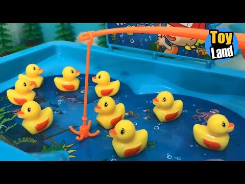 Lucky Duck for Children  Fishing Videos for Children  Fishing for Kids | TOYLAND