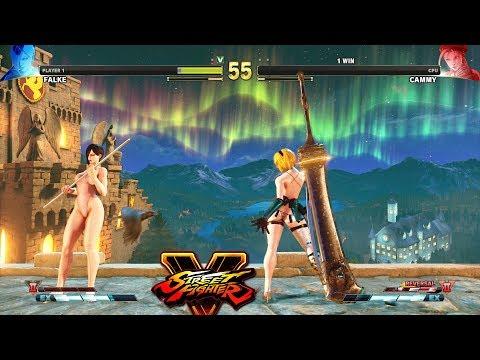 Street Fighter V AE Falke vs Cammy PC Mod