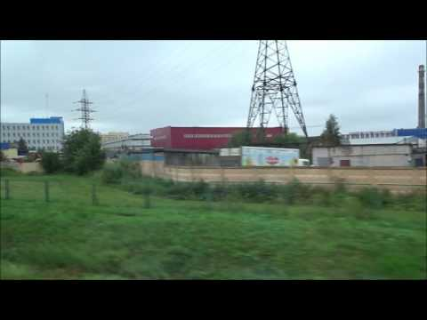 Russian Railways High Speed Train Trip: St. Petersburg, Russ