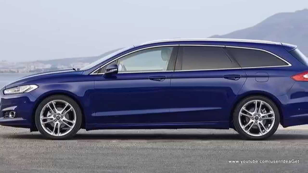 New 2015 Ford Mondeo Wagon Youtube
