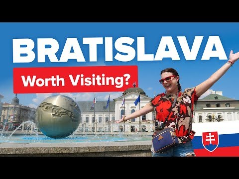 Should You Visit Bratislava? Trying Halušky in Slovakia. Things to do in the city. Travel Guide