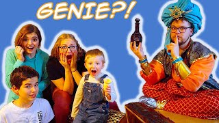 Genie Appears From All Bandits Treasures! Finale with That YouTub3 Family! / The Beach House