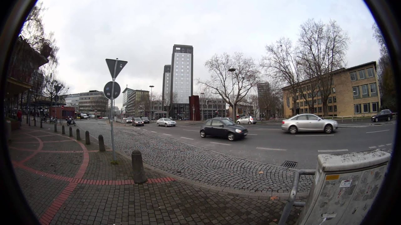 "Fish-Eye 8mm 4/3"" C-Mount lens on APS-C (NEX-3N) - YouTube"