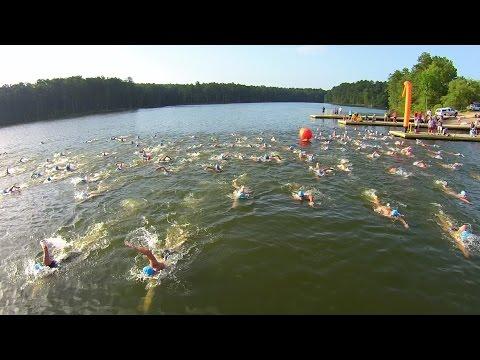 2015 Little Uno and Big Deuce Swim at Jordan Lake - New Hope, NC