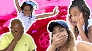 Stolen Car Prank On Mom!