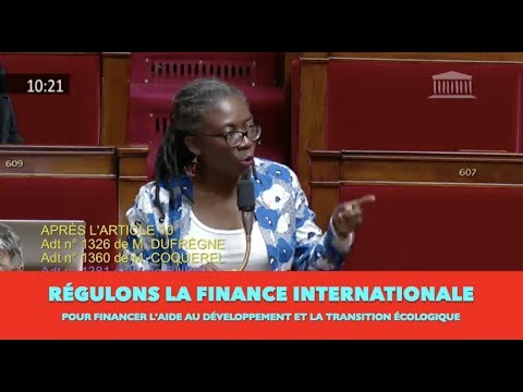 PLF 2019 : le projet de la Macronie c'est de de draguer la finance internationale (19/10/18)