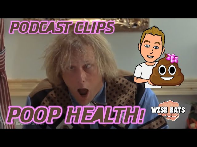 Poop Health! Stop Spending Hours on the Toilet + Squatty Potty Review (Podcast Clip from Episode 32)